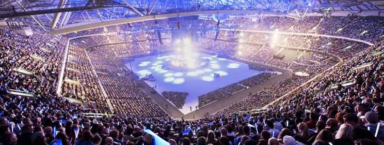 Friends Arena Un Estadio Potenciado por SKF