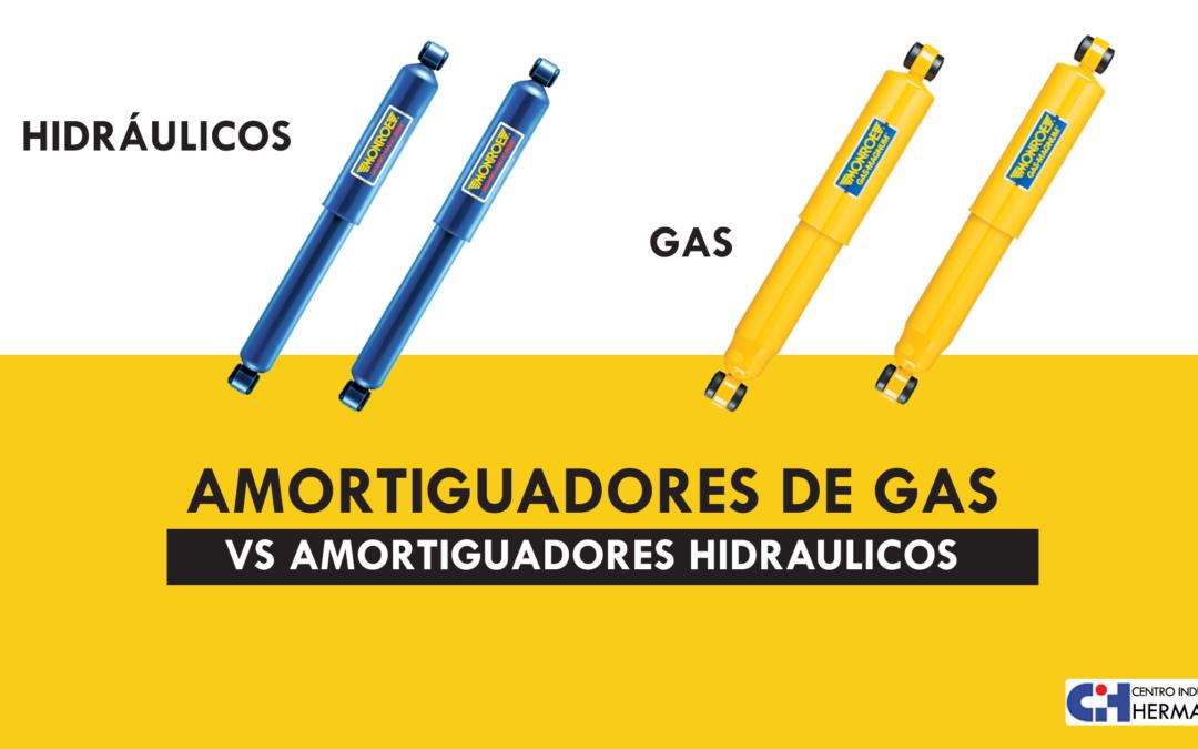 Amortiguadores hidráulicos y amortiguadores de gas