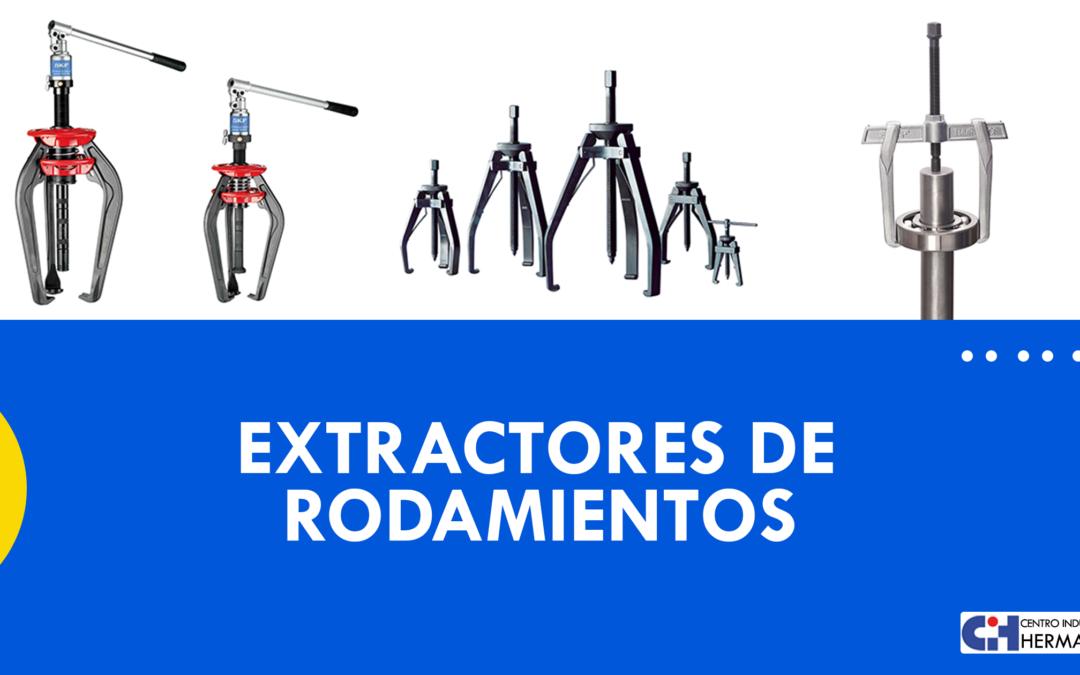 Tipos de extractores de rodamientos