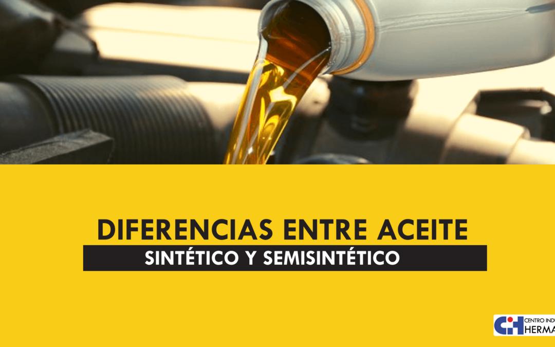Diferencias entre aceite sintético y semisintético
