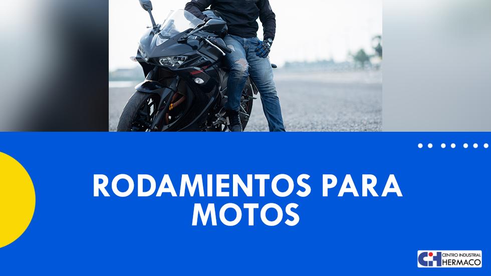 Rodamientos para motos